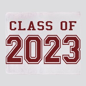 Class of 2023 Throw Blanket