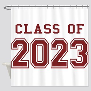 Class of 2023 Shower Curtain