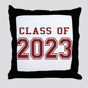 Class of 2023 Throw Pillow