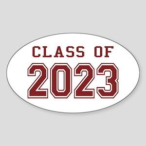 Class of 2023 Sticker (Oval)