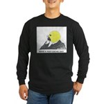 Nietzsche Long Sleeve Dark T-Shirt