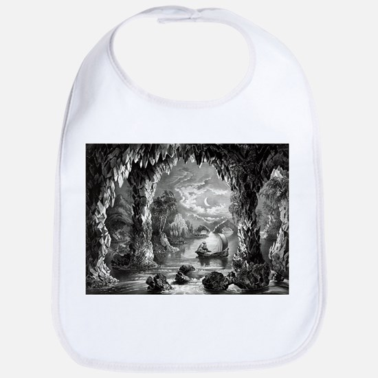 The Enchanted cave - 1867 Cotton Baby Bib