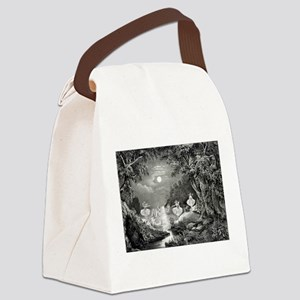 The Fairie's home - 1868 Canvas Lunch Bag