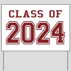Class of 2024 (Red) Yard Sign