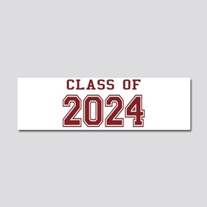 Class of 2024 (Red) Car Magnet 10 x 3