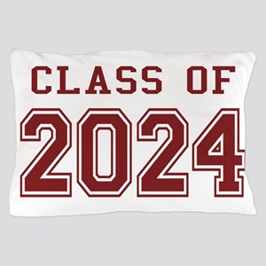 Class of 2024 (Red) Pillow Case