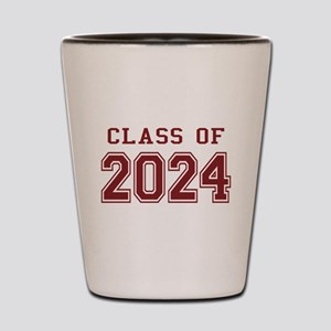 Class of 2024 (Red) Shot Glass