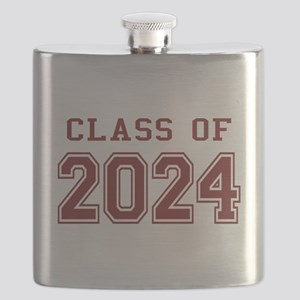 Class of 2024 (Red) Flask