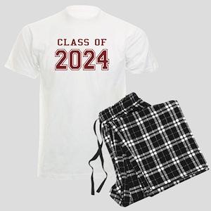 Class of 2024 (Red) Men's Light Pajamas