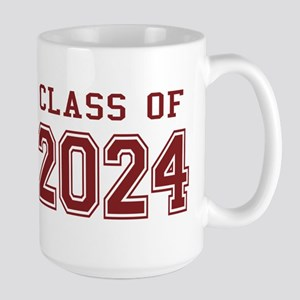 Class of 2024 (Red) Large Mug