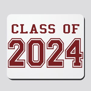 Class of 2024 (Red) Mousepad