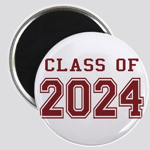 Class of 2024 (Red) Magnet