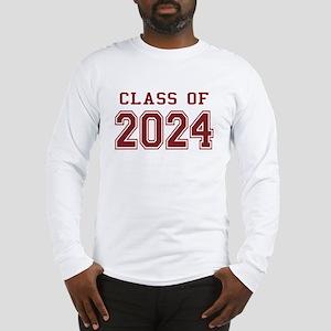 Class of 2024 (Red) Long Sleeve T-Shirt