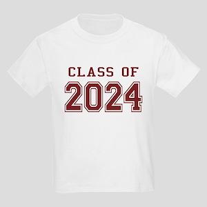 Class of 2024 (Red) Kids Light T-Shirt