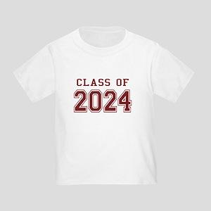 Class of 2024 (Red) Toddler T-Shirt