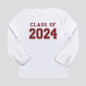 Class of 2024 (Red) Long Sleeve Infant T-Shirt