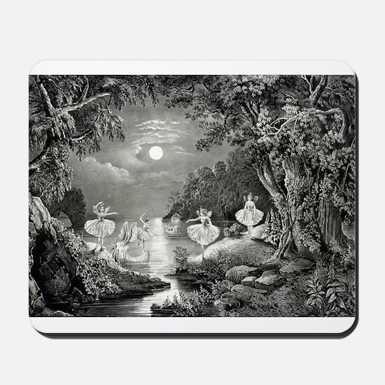The Fairie's home - 1868 Mousepad