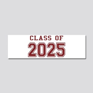 Class of 2025 (Red) Car Magnet 10 x 3