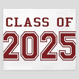 Class of 2025 (Red) King Duvet