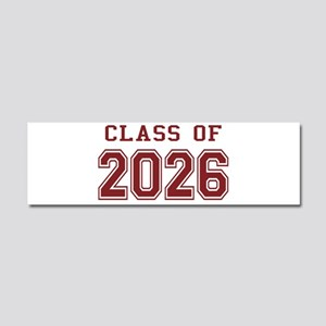 Class of 2026 (Red) Car Magnet 10 x 3
