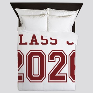 Class of 2026 (Red) Queen Duvet