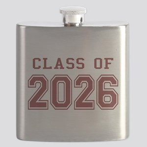 Class of 2026 (Red) Flask