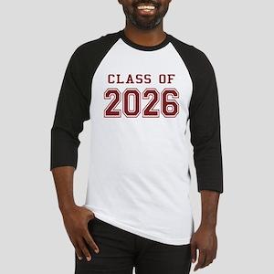 Class of 2026 (Red) Baseball Jersey
