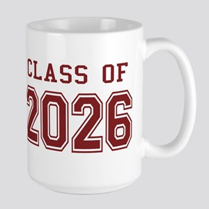 Class of 2026 (Red) Large Mug