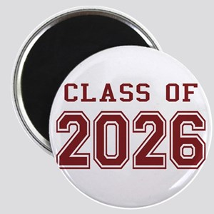 Class of 2026 (Red) Magnet