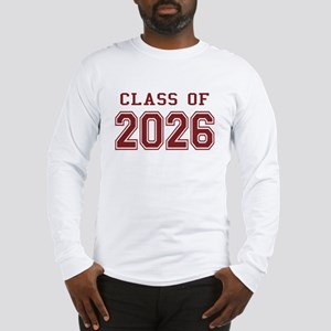 Class of 2026 (Red) Long Sleeve T-Shirt
