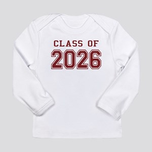 Class of 2026 (Red) Long Sleeve Infant T-Shirt