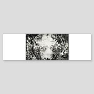 The Fairy Grotto - 1867 Sticker (Bumper)