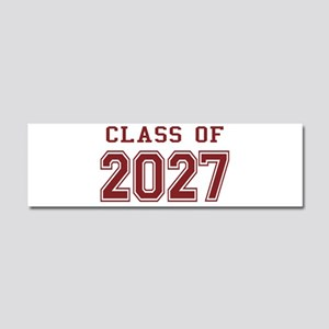 Class of 2027 (Red) Car Magnet 10 x 3