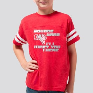 Sounds Good Youth Football Shirt