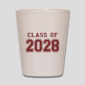 Class of 2028 (Red) Shot Glass