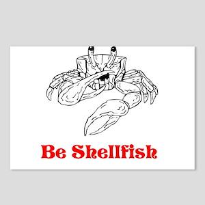 Selfish Shellfish Postcards (Package of 8)