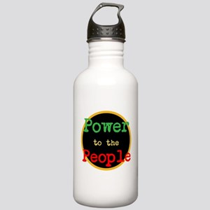 Power to the People Stainless Water Bottle 1.0L