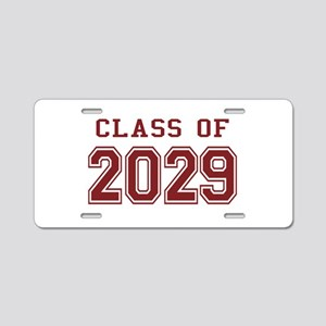 Class of 2029 (Red) Aluminum License Plate