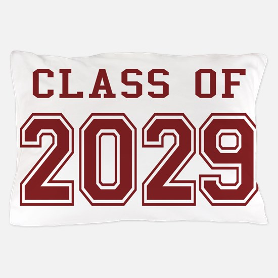 Class of 2029 (Red) Pillow Case