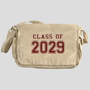 Class of 2029 (Red) Messenger Bag