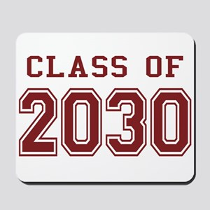 Class of 2030 (Red) Mousepad