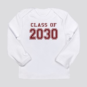Class of 2030 (Red) Long Sleeve Infant T-Shirt