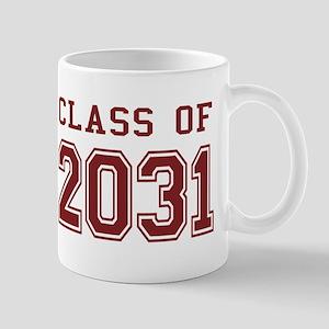 Class of 2031 (Red) Mug