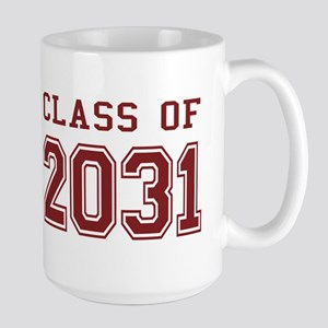 Class of 2031 (Red) Large Mug