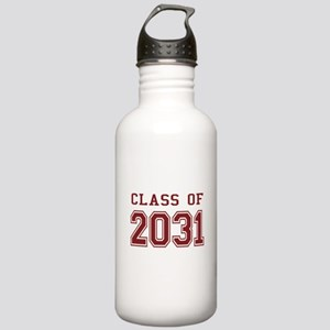 Class of 2031 (Red) Stainless Water Bottle 1.0L