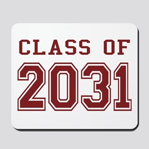 Class of 2031 (Red) Mousepad