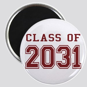 Class of 2031 (Red) Magnet