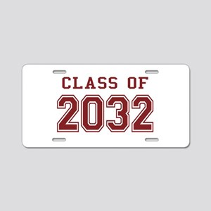 Class of 2032 Aluminum License Plate