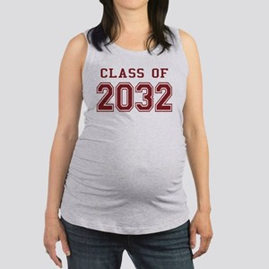 Class of 2032 Maternity Tank Top