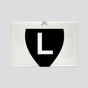 Legia Warszawa Rectangle Magnet